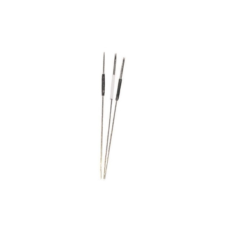 4-Prong Flat needles with needle rests (Box of 10 )